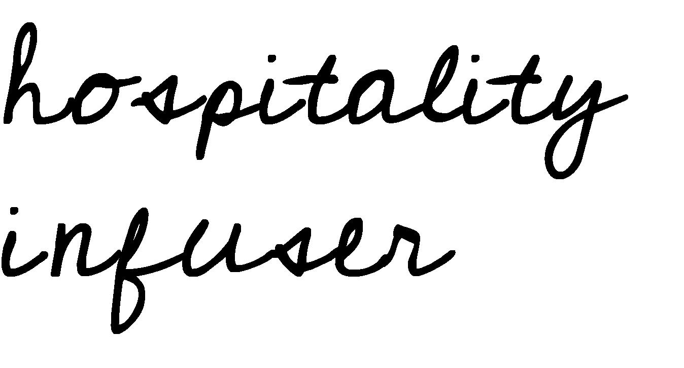 Hospitality infuser titel